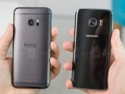 Dế sắp ra lò - So sánh nhanh HTC 10 với Samsung Galaxy S7