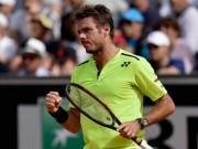 """Thể thao - Wawrinka – Ramos: """"Hoàng đế"""" ra oai (Tứ kết Roland Garros)"""