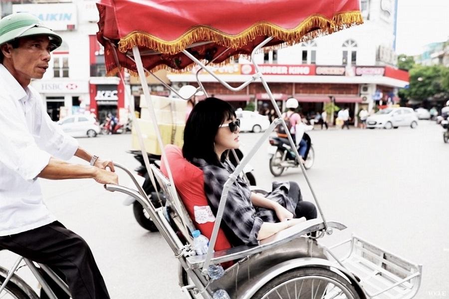 MC nổi nhất xứ Đài khoe dáng xinh trong nắng hè Hà Nội - 2