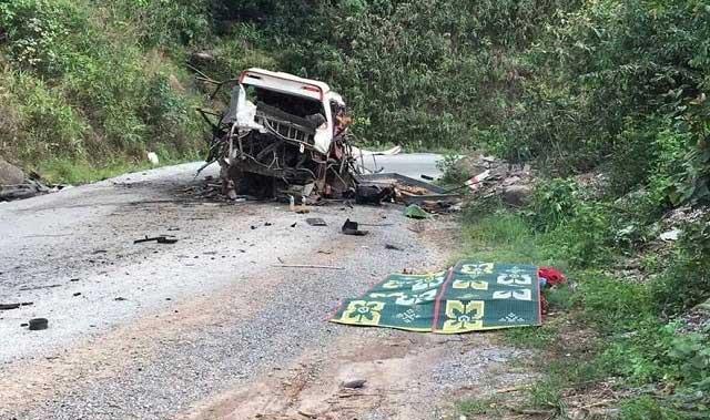 Nổ xe biển Lào, 9 người chết: Xác minh chủ xe - 1