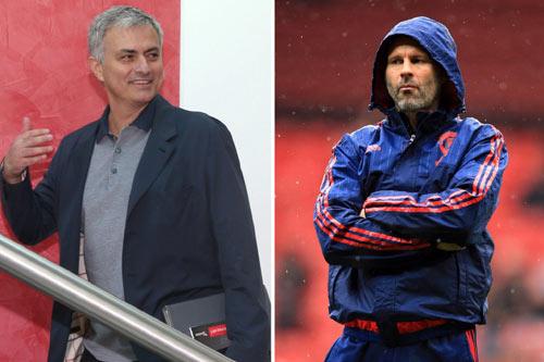 Không chịu dưới quyền Mourinho, Giggs sẽ rời MU - 1