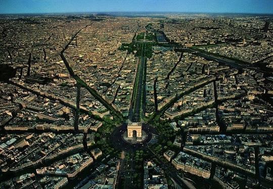 10 thành phố du lịch nổi tiếng nhìn từ trên cao - 1