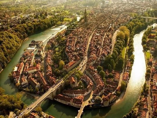 10 thành phố du lịch nổi tiếng nhìn từ trên cao - 3