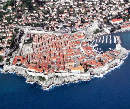 10 thành phố du lịch nổi tiếng nhìn từ trên cao - 6