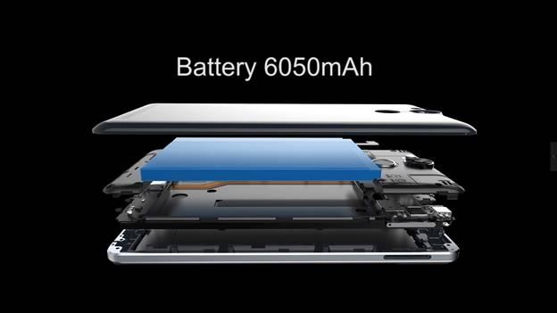 """Ulefone Power pin  6050mah """"thay  sạc dự phòng""""  chính hãng tại Việt Nam - 2"""
