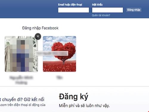 Đăng nhập nhanh nhiều tài khoản Facebook không cần mật khẩu - 2