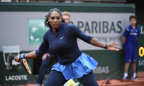 Roland Garros ngày 12: Serena thẳng tiến vào bán kết - 1