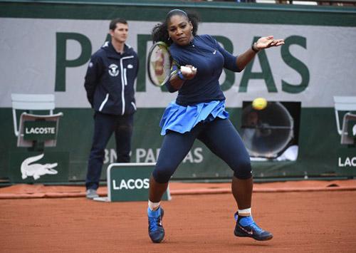Roland Garros ngày 12: Serena thẳng tiến vào bán kết - 5