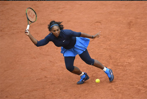 Roland Garros ngày 12: Serena thẳng tiến vào bán kết - 7