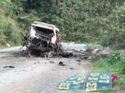 Tin tức trong ngày - Nổ xe khách về Nghệ An, 9 người tử vong tại chỗ