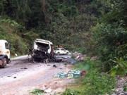 Tin tức trong ngày - Vụ tai nạn tại Lào 9 người Việt tử vong: Lời kể người sống sót