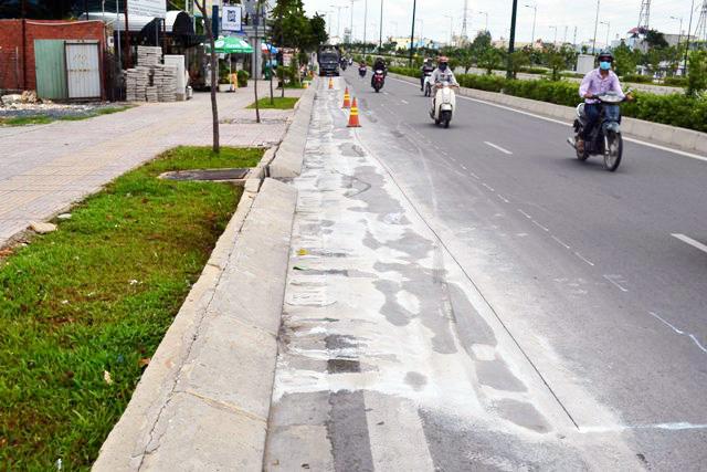 Cấm xe trên đại lộ đẹp nhất TPHCM để sửa chữa - 2