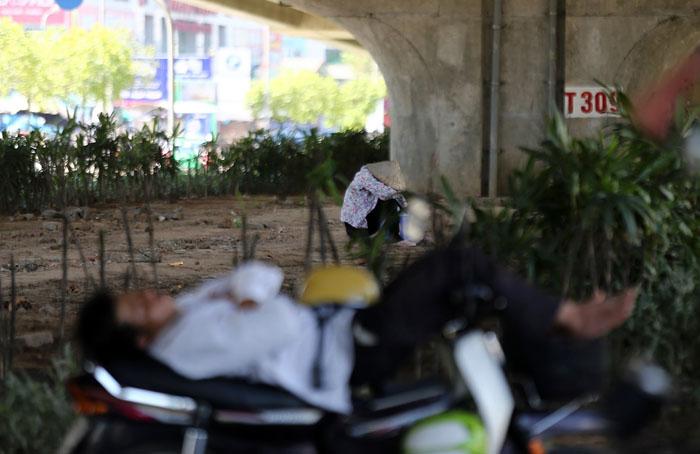 Hà Nội: Cầu đi bộ chảy nhựa vì nắng nóng - 13