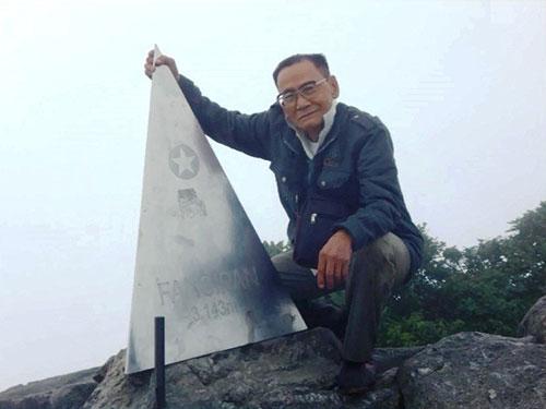 Cụ ông 85 tuổi lọt top kỷ lục TG nhờ 4 lần leo Fansipan - 1
