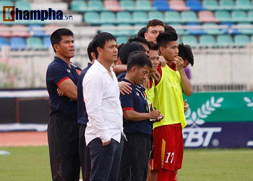 Chùm ảnh: Thắng Hong Kong, ĐTVN ăn mừng như vô địch - 4