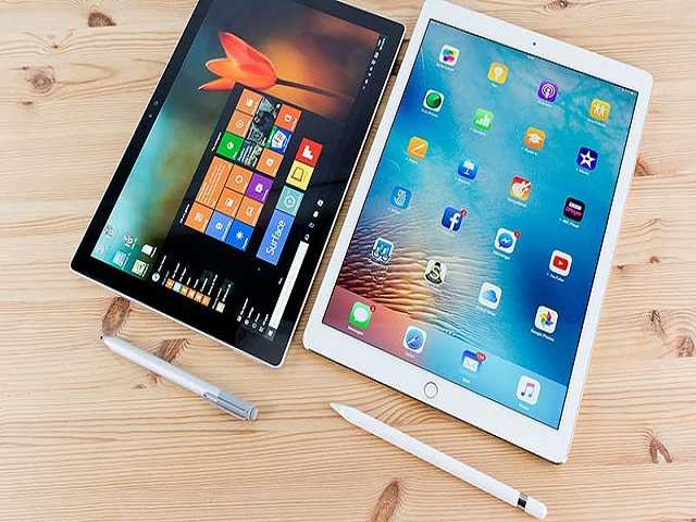 Microsoft Surface Pro bất ngờ vượt mặt Apple iPad Pro - 1