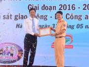 Honda Việt Nam ký kết triển khai các hoạt động ATGT với Cục Cảnh sát giao thông