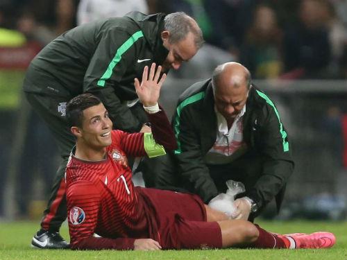 Euro 2016: Ronaldo được bảo vệ như nguyên thủ - 1