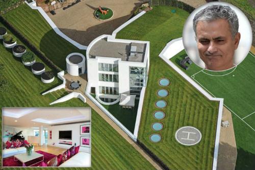 Chiêm ngưỡng siêu biệt thự 5 triệu bảng của Mourinho - 1