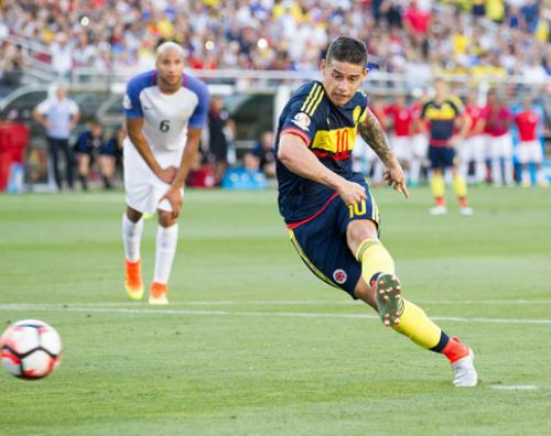 Kết quả Mỹ vs Colombia - 1