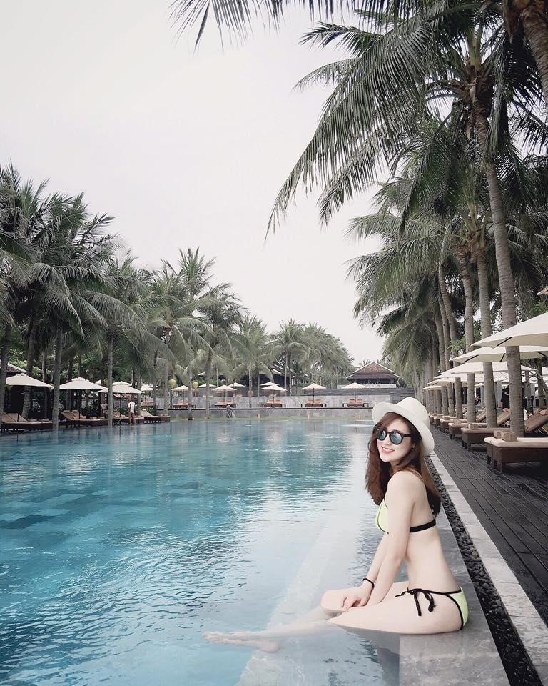 Hạ nhiệt với ảnh mỹ nữ Việt thả dáng bên làn nước mát - 5