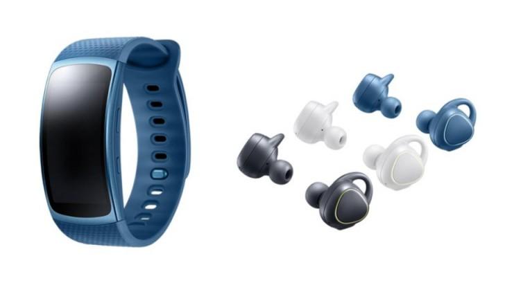 Vòng theo dõi sức khỏe Samsung Gear fit 2 trình làng - 1