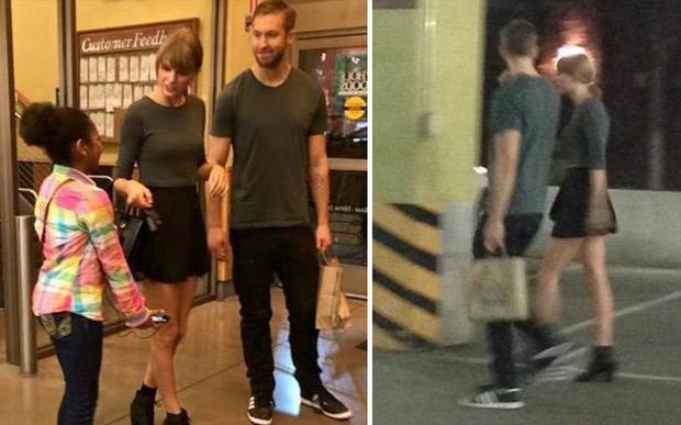 Khoảnh khắc ngọt ngào của Taylor Swift và bạn trai cũ - 2