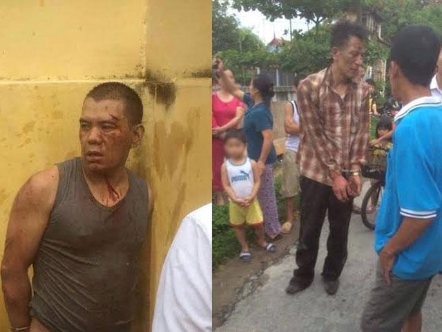 Hai người trộm chó bị dân làng đánh bầm dập - 1