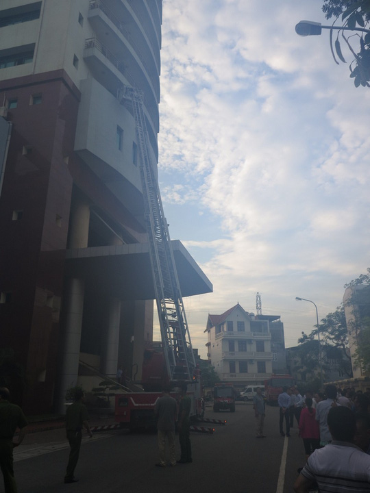 Cháy đài truyền hình Hải Phòng - 1 trưởng phòng thiệt mạng - 1