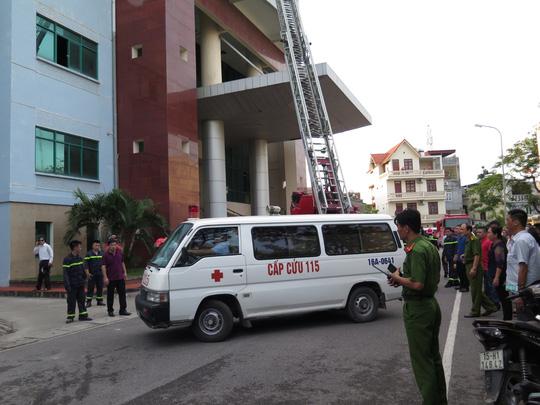 Tin tức mới nhất vụ cháy đài phát thanh truyền hình Hải Phòng - 3