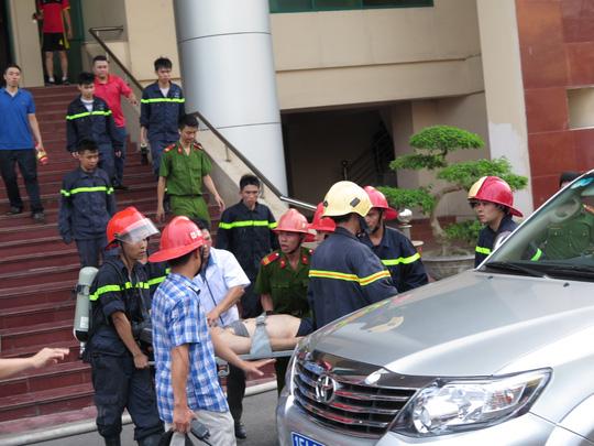 Cháy ở Đài PT-TH Hải Phòng, 1 trưởng phòng thiệt mạng - 4