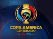 Bảng xếp hạng bóng đá - Bảng xếp hạng Copa America 2016