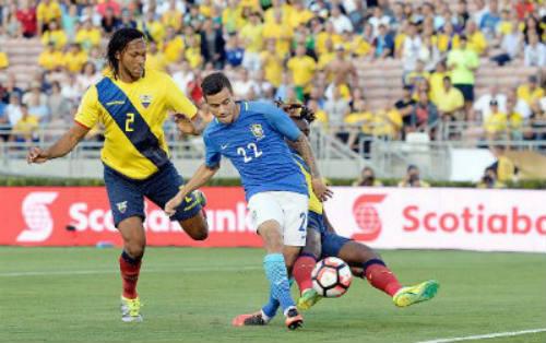 Video Brazil vs Ecuador - 1
