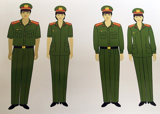 Hôm nay, công an có trang phục mới - 1