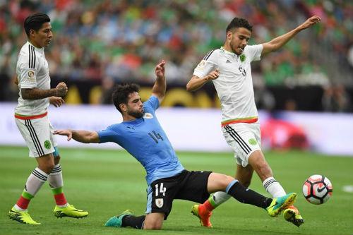 Video Mexico vs Uruguay - 1
