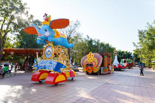 Tưng bừng lễ hội Magic World 2016 tại Thiên đường Bảo Sơn - 1