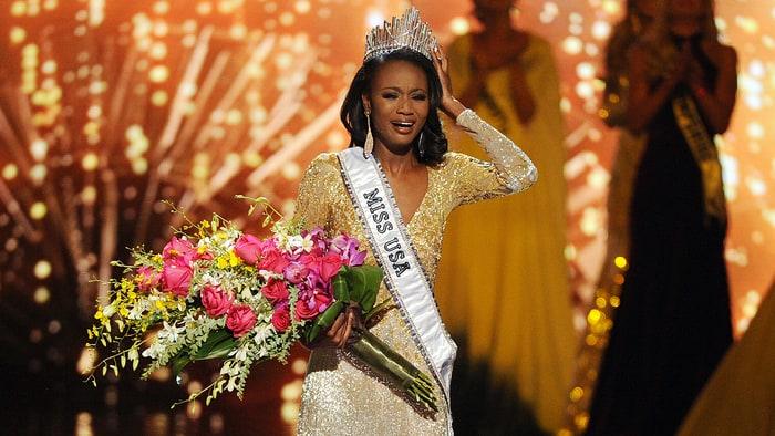 Bất ngờ vì nhan sắc quá khiêm tốn của tân hoa hậu Mỹ - 1