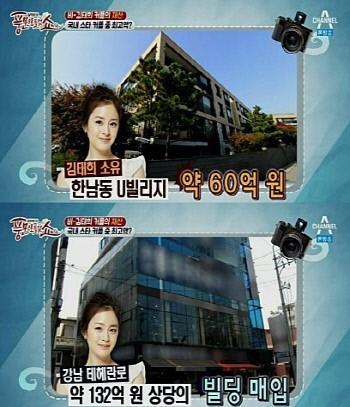 Khối tài sản khủng nhất nhì showbiz Hàn của Kim Tae Hee - 3