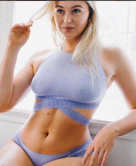 Nàng béo xinh nhất làng mẫu không ăn kiêng mà vẫn sexy - 4