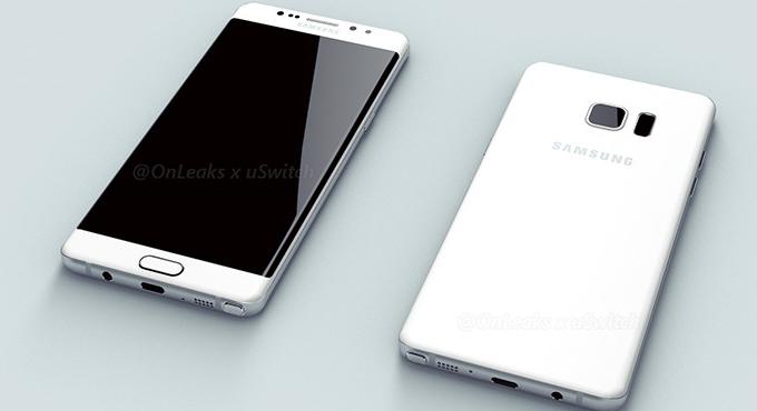 Hình ảnh đầu tiên của Galaxy Note 6 Edge bị lộ diện - 1