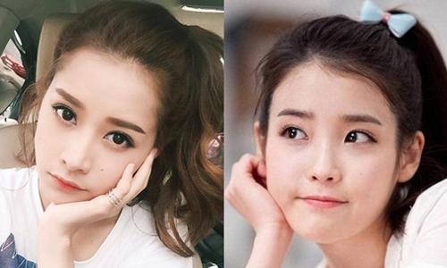 Bất ngờ với nữ ca sĩ Hàn giống hệt Chi Pu - 2