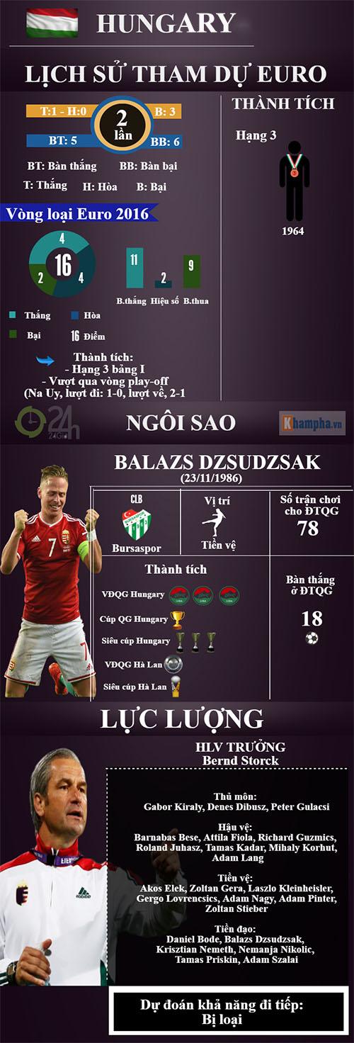 (Infographic) Euro 2016 - Bảng F: Ronaldo & lần cuối ngọt ngào - 5