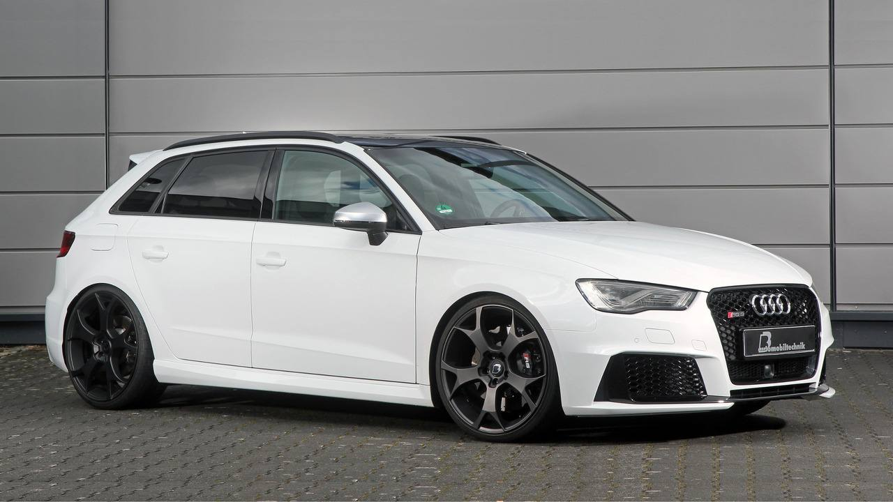 Audi RS3 phiên bản độ có công suất 550 mã lực - 1