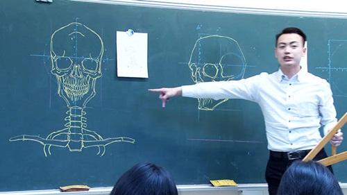 """Dân mạng """"phát cuồng"""" với thầy giáo đẹp trai, vẽ đẹp - 1"""