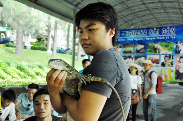 Tận thấy rồng Nam Mỹ, kỳ đà sông Nile trên đất Sài Gòn - 7