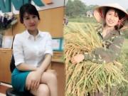 """Bạn trẻ - Cuộc sống - """"Cô gái gặt lúa"""" bất ngờ nổi tiếng vì quá xinh đẹp"""