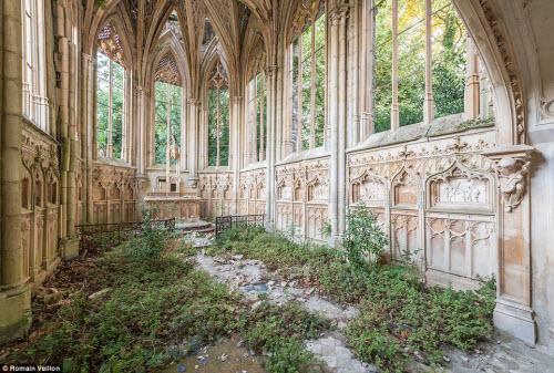 Vẻ đẹp kỳ quái bên trong những tòa nhà bỏ hoang - 7