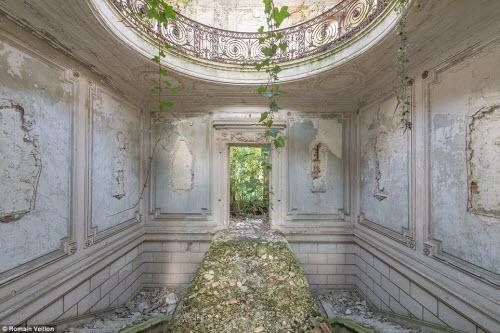 Vẻ đẹp kỳ quái bên trong những tòa nhà bỏ hoang - 11