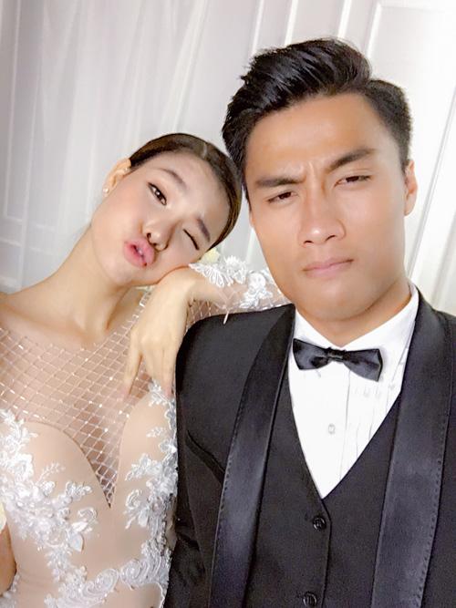 Hau truong dam cuoi Mac Hong Quan va Ky Han - 6