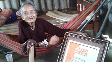 Về Sài Gòn thăm cụ bà thọ nhất châu Á - 1